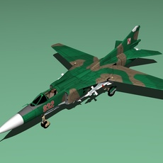 Mig 23 3D Model