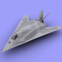 f117 3D Model