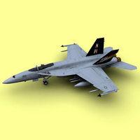 F/A-18E 3D Model