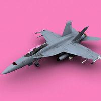 f/a18f 3D Model