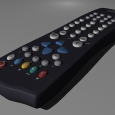 tv remote control philips 3D Model