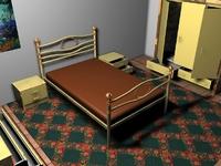 Bed room 3D Model
