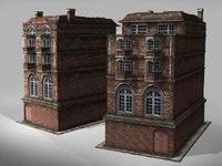 London's house lowpoly  3D Model