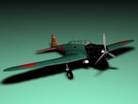 Nakajima B5N2 Kate 3D Model