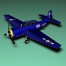TB3_Avenger 3D Model