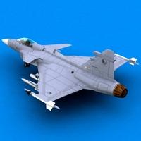 Jas39 3D Model