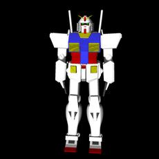 Gundam ver. Ka 3D Model