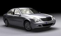 Mercedes E Class (W211) 3D Model