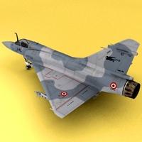 Mirage2000 3D Model