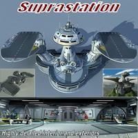 Supra Station 3D Model