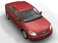 2005 Chevrolet Cobalt LT Sedan 3D Model