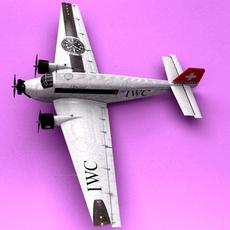 ju-52 3D Model