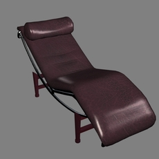 Sofa - Chaise Lounge 3D Model