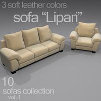 """sofa """"Lipari"""" 3D Model"""