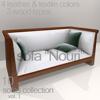 "sofa ""Nouri"" 3D Model"