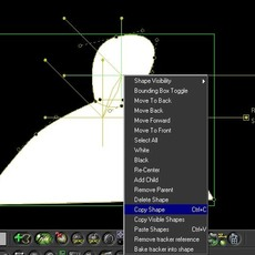 RotoShape: Technique to hide keyframes for a specific shape