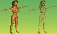 3D Eva(MEDIUM) 3D Model