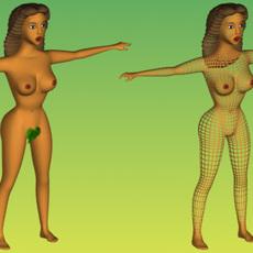 3D Eva(HIGH) 3D Model