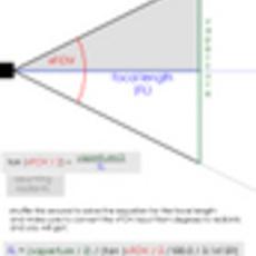 camera trigonometry