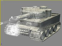 Tiger I Initial Version 3D Model