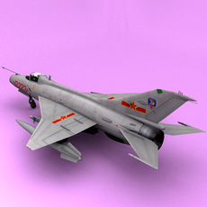 j-7 3D Model