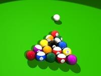 pool balls.max 3D Model
