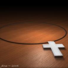 Diamond Encrusted Pendant 3D Model