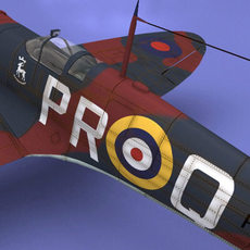 Spitfire 3D Model
