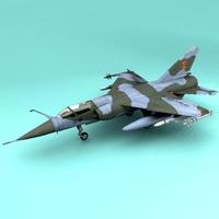 Mirage f1 3D Model