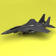 F-15 3D Model