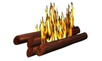 Fire Logs 3D Model