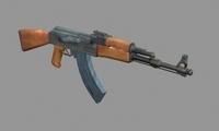 AK 74 3D Model