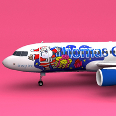 a320 Christmas Thomas Cook 3D Model