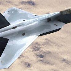 F/A-22 Raptor 3D Model
