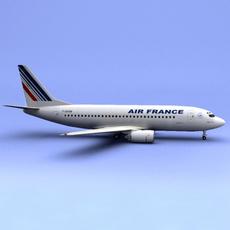 Boeing 737 France 3D Model