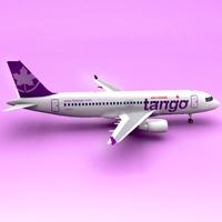 A320 Air Canada Tango 3D Model