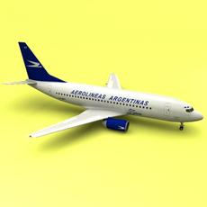 Boeing 737 aerolineas 3D Model