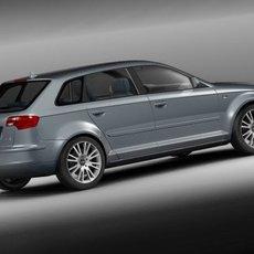 Audi A3 sportback 2006 3D Model