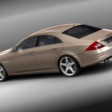 Mercedes CLS AMG 3D Model