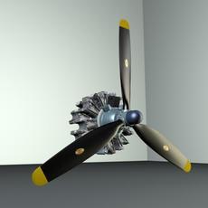 ENGINE R 2800 3D Model