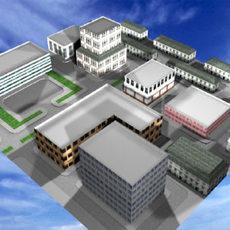 3D City 3D Model