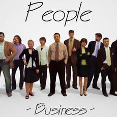 10 Low Polygon 3d People - Business 3D Model