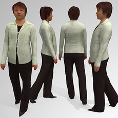 30 Low Polygon 3d People - BUNDLE 3D Model