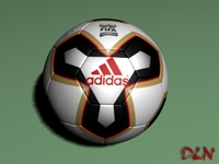Pelias Soccer 3D Model