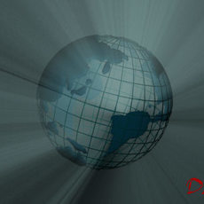 world, globe, earth (animated) 3D Model