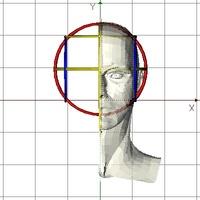 Male Head 01X1 3D Model