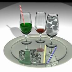 Glass_001 3D Model