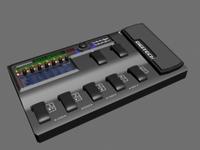 Effects processor 3D Model