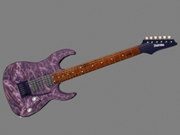 Ibanez Guitar 3D Model