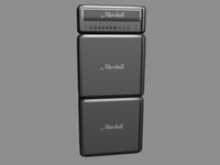 Marshall Stack 3D Model